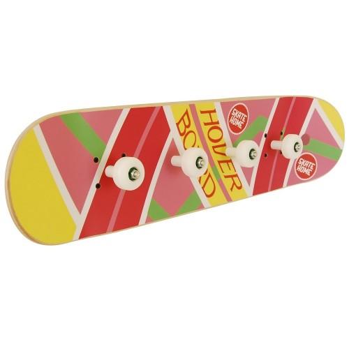 Skateboard coat rack room theme for skateboarder or sports fan