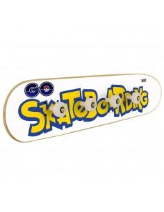 Pokemon Go Skateboarding - Skateboard coat rack
