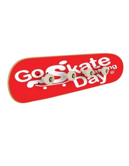Go Skateboarding Day, Wall coat rack Red