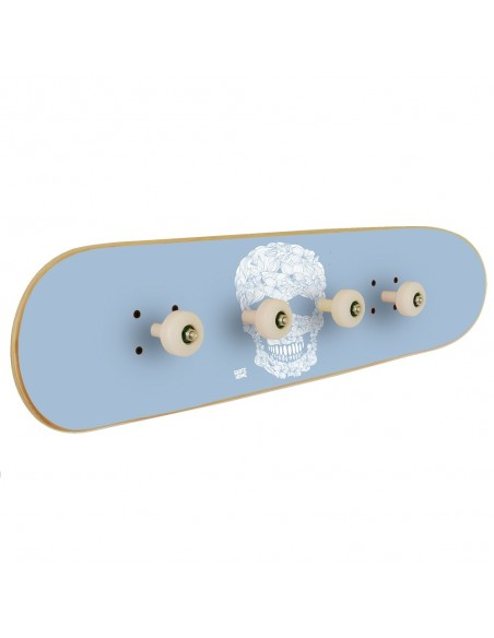 Perchero Pivot Grind - Floral Skull