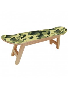 Tabouret Skateboard, Camo