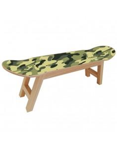 Taburete Skateboard, Camo