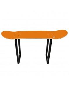 Geschenk für spezielle Skater mit diesem orange hohen Schemel