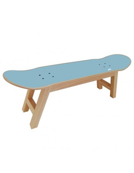Skateboard tabouret Nollie Flip, Bleu Ciel
