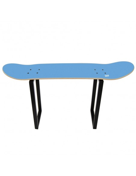 Bank Skateboard Shove It, Blau