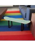 Mobilier de skate personnalisé pour la chambre d'un adolescent skater
