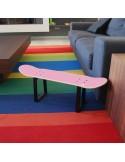 Mueble taburete idea regalo especial para mujeres skaters