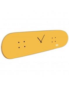 Horloge de skateboard pour décorer la chambre d'un skateur avec énergie positive