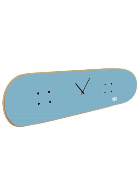 Skateboard Wall Clock - Sky Blue