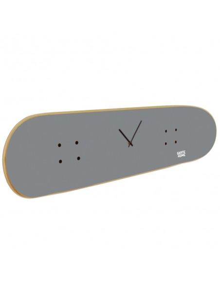 Skateboard Clock - Gray