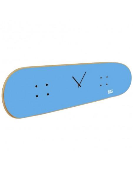 Skateboard Wanduhr - Blau