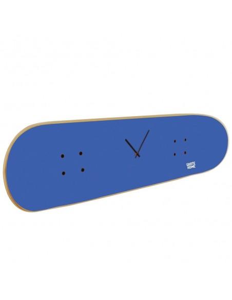 Skateboard Wall Clock - Royal Blue