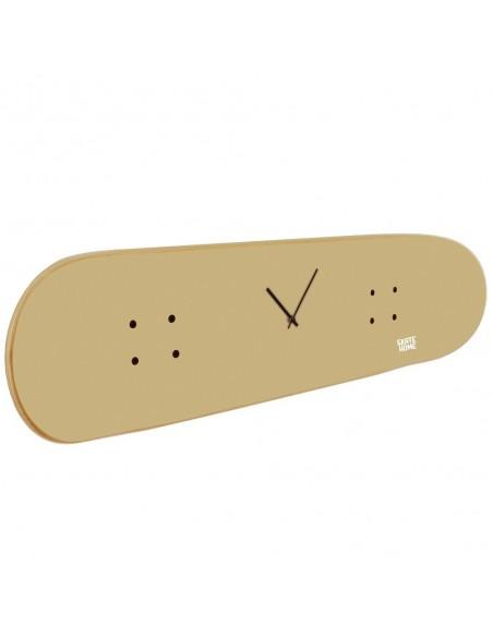 Skateboard Clock - Cinnamon