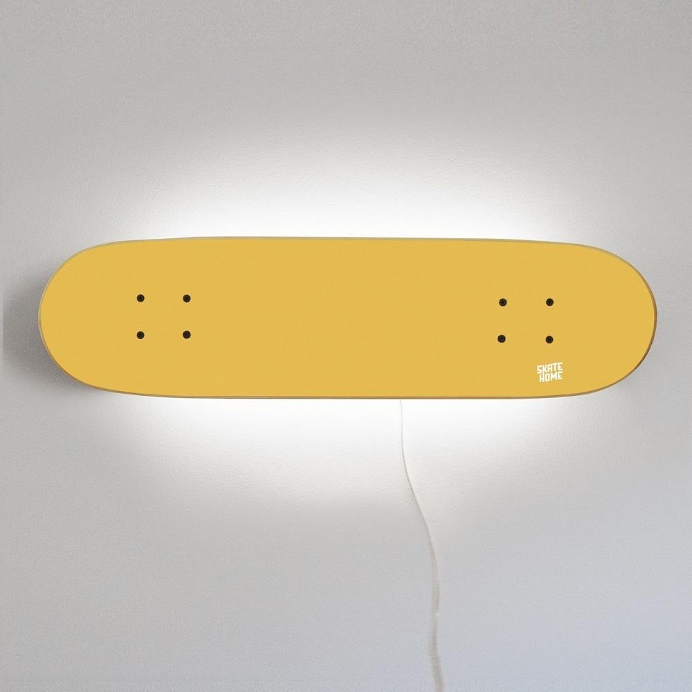 skate lampe um das zimmer eines skaters zu beleuchten. Black Bedroom Furniture Sets. Home Design Ideas