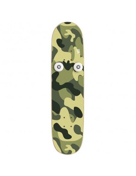 Vertical Skateboard Coat Rack Hanplant, Camo