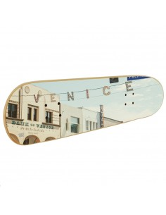 Muebles skate, Arte de pared sobre tabla de skate Venice