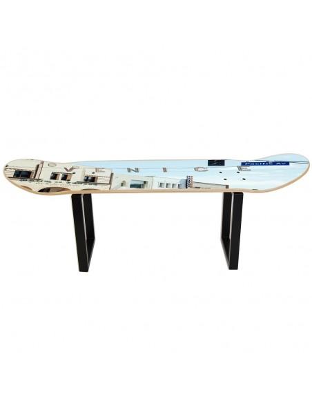 Skateboard stool No Comply - Venice Beach , Los Ángeles - California