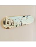 L'horloge de skate avec illustration du célèbre panneau Venice Beach