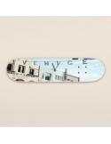 Skateboarduhr mit Illustration des berühmten Venedig-Strandplakats