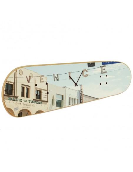 Skateboard Wanduhr - Venice Beach, Los Angeles, California