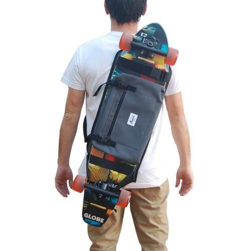 Longboard Backpack - Grey