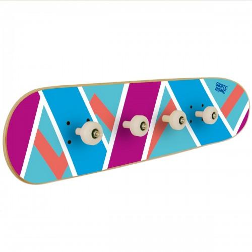 Special coat rack for skateboarder