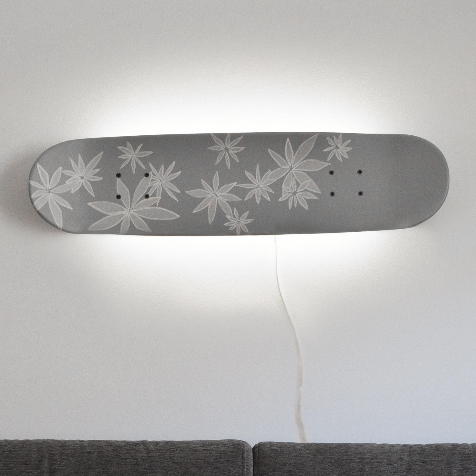 skate inspirations lampe geschenk f r skater. Black Bedroom Furniture Sets. Home Design Ideas