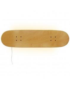 Lámpara Skate perfecta para un amante del monopatín