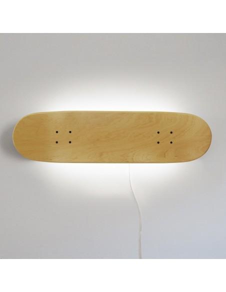Lampe de skateboard, Naturelle