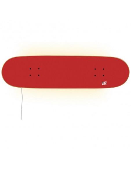Skateboard Led Lamp, Red
