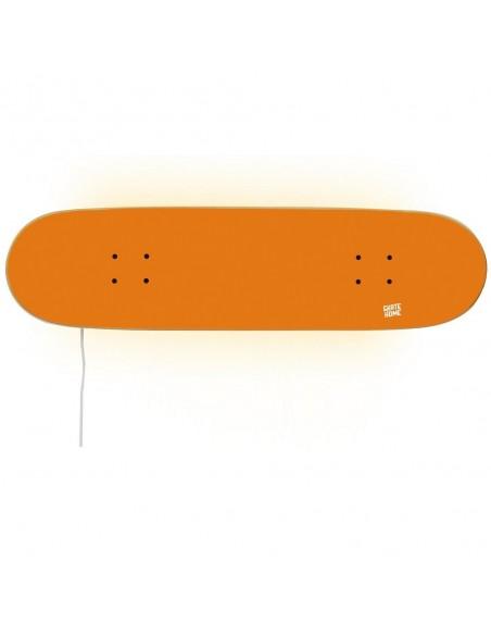 Skateboard lampe, Orange