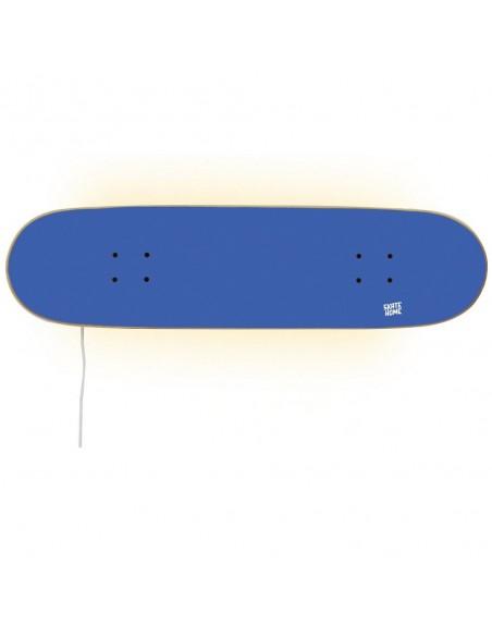 Skateboard Lampe, Bleu royal