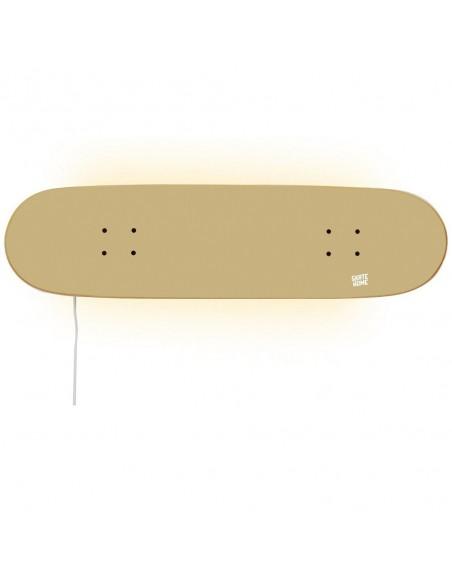 Skateboard lampe, Zimt