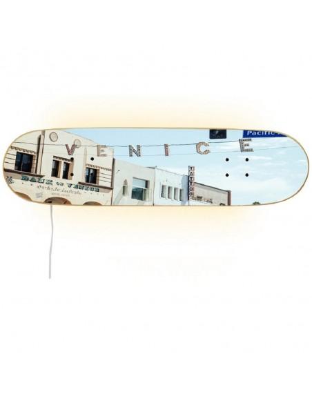 Skateboard Lampe - Venice Beach , Los Ángeles - California