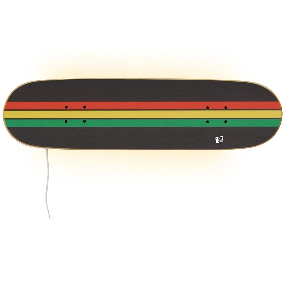Skateboard Series Rasta Lampe Lampe Skateboard vnOyN8w0m
