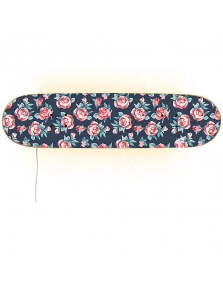 Skateboard Lámpara - Rosas pequeñas