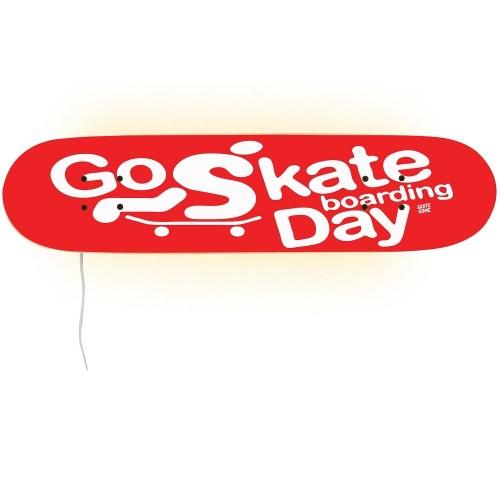 Go Skateboarding Day muebles para su habitación