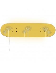 Lámpara Monopatín: regalo original para niños y niñas patinadores