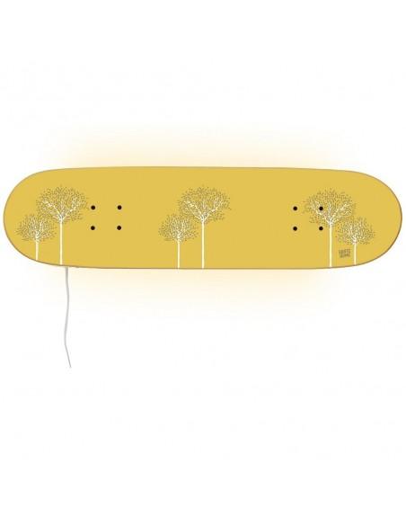 Skateboard Lamp Casper - Birch Tree