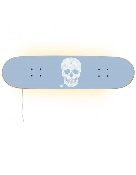 Skateboard Lámpara Casper - Floral Skull
