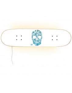 Lampe design Skull pour les skateurs et les fans de sport
