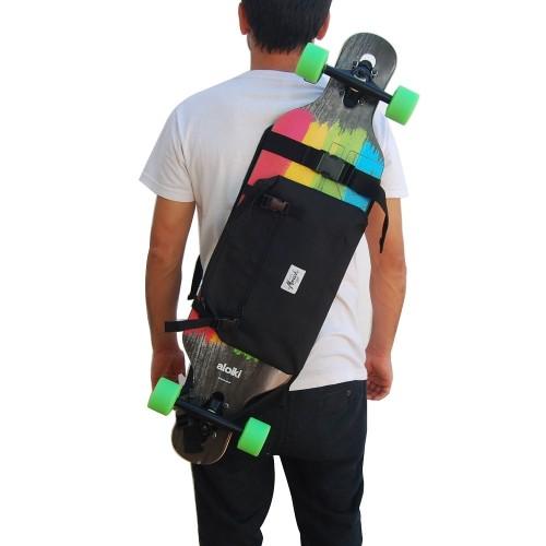 Longboard Backpack - Black