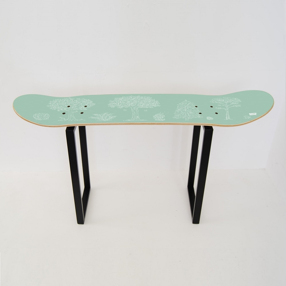 tabouret bois pour enfants skate banc. Black Bedroom Furniture Sets. Home Design Ideas