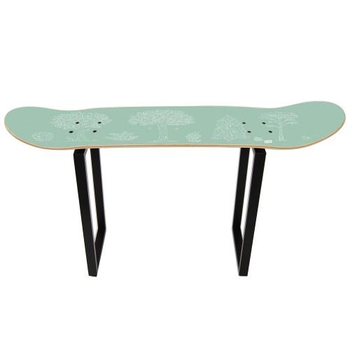 Tabouret bois pour enfants, Tabouret Skateboard