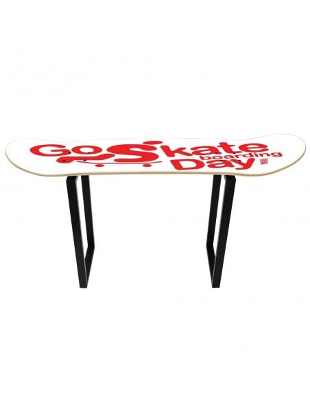 Go Skateboarding Day, Shove It Stool White