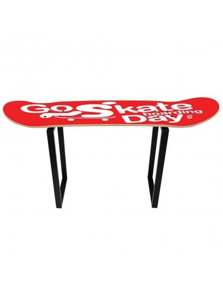 Go Skateboarding Day, Taburete Shove It Rojo