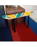 Bench of Skate Skateboard furniture for sport themed bedroom