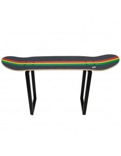 Tabouret de skateboard, idée cadeau décoration reggae