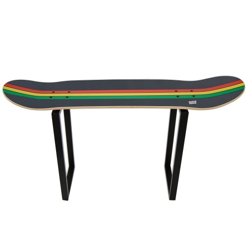 Skateboard stool, gift idea decoration reggae