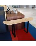 Cadeaux pour les amateurs de skateboard avec banc fait avec Skate